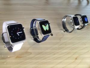 Modèles d'Apple watch