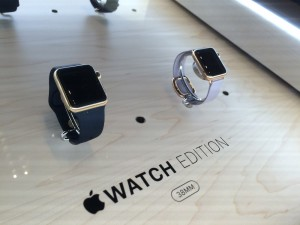 Apple Watch, objet de luxe