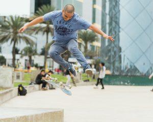 indémodable skateboard, le sport de ville par excellence