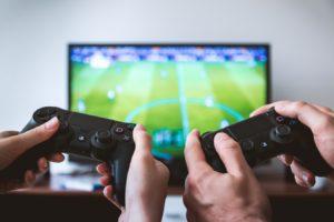 jouer au foot sur playstation