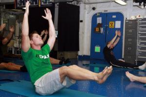 Pilates en groupe