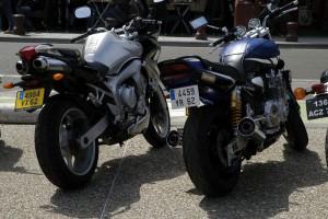 Nouvelle norme d'immatriculation pour les motos