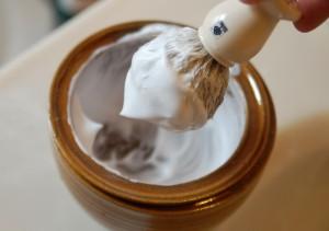 Crème pour le rasage