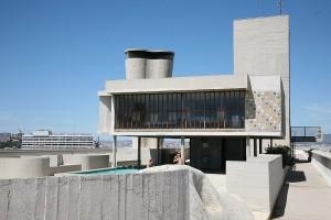 Marseille Modulor sur le toit de la Cité Radieuse