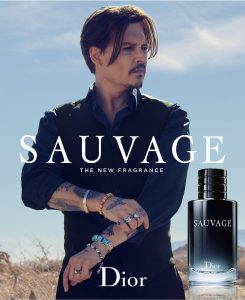 sauvage dior johnny depp