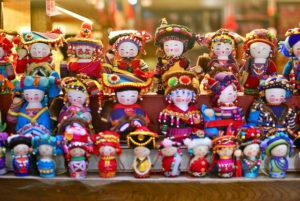 Souvenir dolls