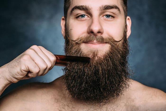 peigner barbe homme